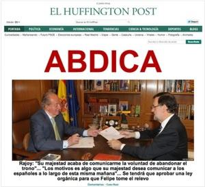 Huff Post Abdica