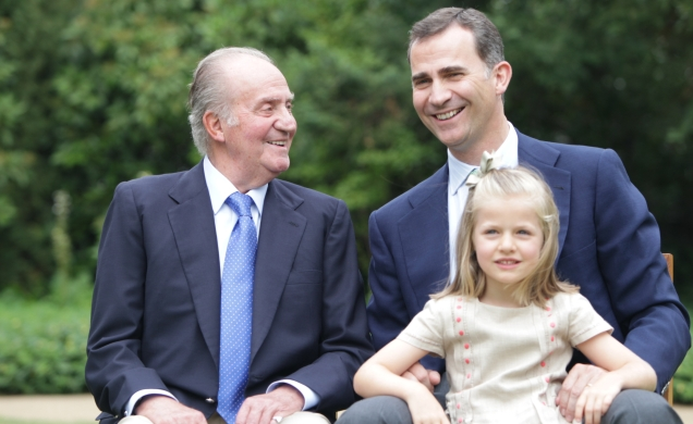 Tres generaciones, un compromiso común © Casa de S.M. el Rey / Borja Fotógrafos