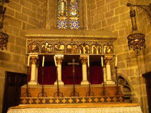 Arca del sepulcro de San Raimundo de Peñafort en la catedral de Barcelona