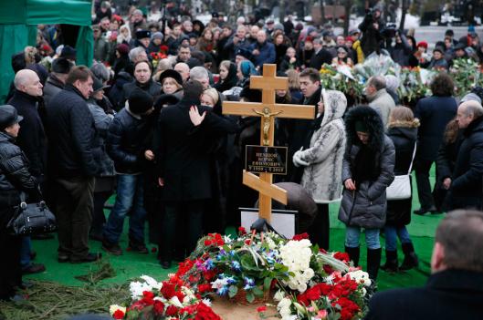 Entierro opositor Nemtsov